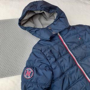 Tommy Hilfiger Puffer Hooded Jacket Coat Boy's